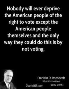 fdr vote