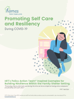 Promoting Self Care and Resilience1